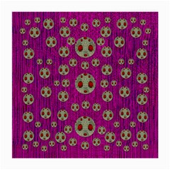 Ladybug In The Forest Of Fantasy Medium Glasses Cloth (2 Side)