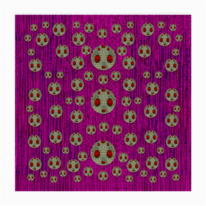 Ladybug In The Forest Of Fantasy Medium Glasses Cloth (2-Side)
