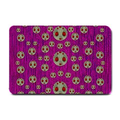 Ladybug In The Forest Of Fantasy Small Doormat