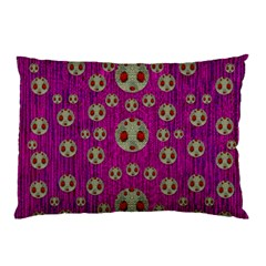 Ladybug In The Forest Of Fantasy Pillow Case