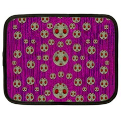 Ladybug In The Forest Of Fantasy Netbook Case (XL)