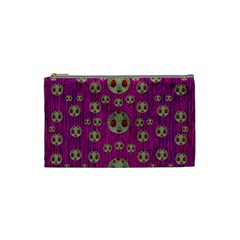 Ladybug In The Forest Of Fantasy Cosmetic Bag (small)