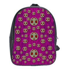 Ladybug In The Forest Of Fantasy School Bags(Large)