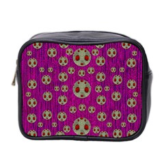 Ladybug In The Forest Of Fantasy Mini Toiletries Bag 2-Side