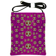 Ladybug In The Forest Of Fantasy Shoulder Sling Bags