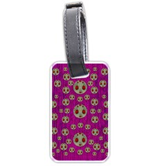 Ladybug In The Forest Of Fantasy Luggage Tags (One Side)