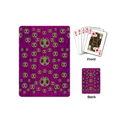 Ladybug In The Forest Of Fantasy Playing Cards (Mini)