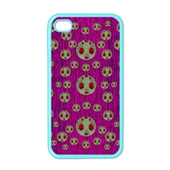 Ladybug In The Forest Of Fantasy Apple iPhone 4 Case (Color)