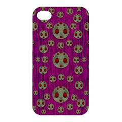 Ladybug In The Forest Of Fantasy Apple iPhone 4/4S Premium Hardshell Case