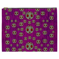 Ladybug In The Forest Of Fantasy Cosmetic Bag (XXXL)