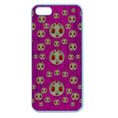 Ladybug In The Forest Of Fantasy Apple Seamless iPhone 5 Case (Color)