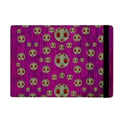 Ladybug In The Forest Of Fantasy Apple iPad Mini Flip Case