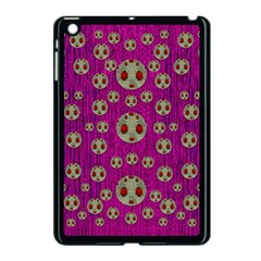 Ladybug In The Forest Of Fantasy Apple Ipad Mini Case (black)