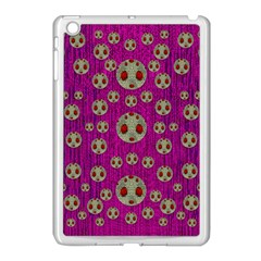 Ladybug In The Forest Of Fantasy Apple iPad Mini Case (White)
