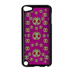Ladybug In The Forest Of Fantasy Apple iPod Touch 5 Case (Black)