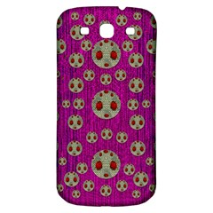 Ladybug In The Forest Of Fantasy Samsung Galaxy S3 S III Classic Hardshell Back Case