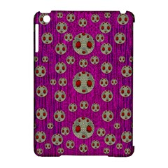 Ladybug In The Forest Of Fantasy Apple Ipad Mini Hardshell Case (compatible With Smart Cover)