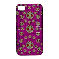 Ladybug In The Forest Of Fantasy Apple iPhone 4/4S Hardshell Case with Stand