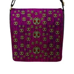Ladybug In The Forest Of Fantasy Flap Messenger Bag (L)