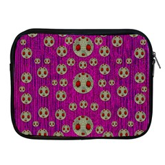 Ladybug In The Forest Of Fantasy Apple iPad 2/3/4 Zipper Cases