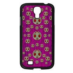 Ladybug In The Forest Of Fantasy Samsung Galaxy S4 I9500/ I9505 Case (Black)