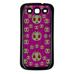 Ladybug In The Forest Of Fantasy Samsung Galaxy S3 Back Case (black)