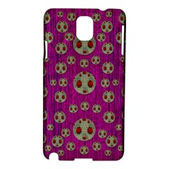 Ladybug In The Forest Of Fantasy Samsung Galaxy Note 3 N9005 Hardshell Case