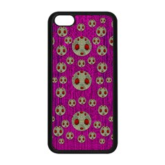 Ladybug In The Forest Of Fantasy Apple Iphone 5c Seamless Case (black)