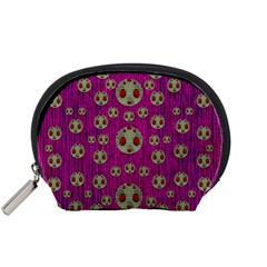 Ladybug In The Forest Of Fantasy Accessory Pouches (Small)