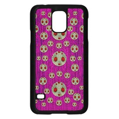 Ladybug In The Forest Of Fantasy Samsung Galaxy S5 Case (Black)
