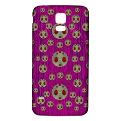 Ladybug In The Forest Of Fantasy Samsung Galaxy S5 Back Case (White)