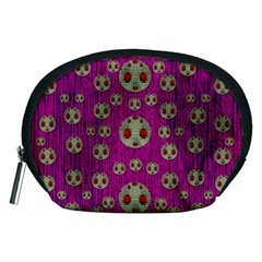 Ladybug In The Forest Of Fantasy Accessory Pouches (medium)