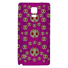 Ladybug In The Forest Of Fantasy Galaxy Note 4 Back Case