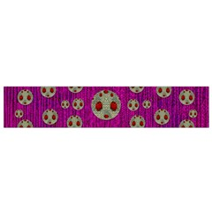 Ladybug In The Forest Of Fantasy Flano Scarf (Small)