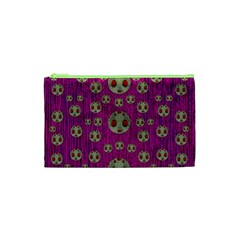 Ladybug In The Forest Of Fantasy Cosmetic Bag (XS)