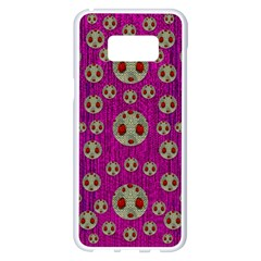 Ladybug In The Forest Of Fantasy Samsung Galaxy S8 Plus White Seamless Case