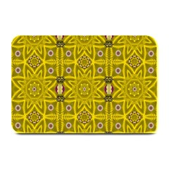 Stars And Flowers In The Forest Of Paradise Love Popart Plate Mats
