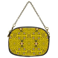 Stars And Flowers In The Forest Of Paradise Love Popart Chain Purses (One Side)