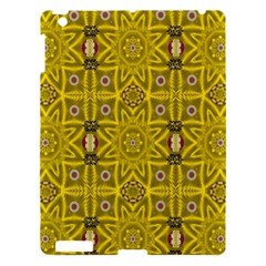 Stars And Flowers In The Forest Of Paradise Love Popart Apple iPad 3/4 Hardshell Case