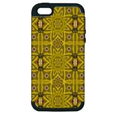 Stars And Flowers In The Forest Of Paradise Love Popart Apple iPhone 5 Hardshell Case (PC+Silicone)
