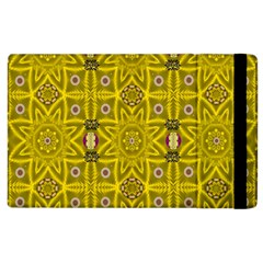 Stars And Flowers In The Forest Of Paradise Love Popart Apple iPad 2 Flip Case