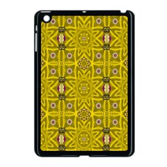 Stars And Flowers In The Forest Of Paradise Love Popart Apple iPad Mini Case (Black)