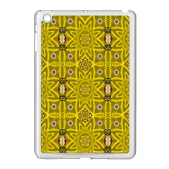 Stars And Flowers In The Forest Of Paradise Love Popart Apple iPad Mini Case (White)