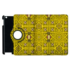 Stars And Flowers In The Forest Of Paradise Love Popart Apple iPad 2 Flip 360 Case