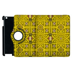 Stars And Flowers In The Forest Of Paradise Love Popart Apple Ipad 3/4 Flip 360 Case