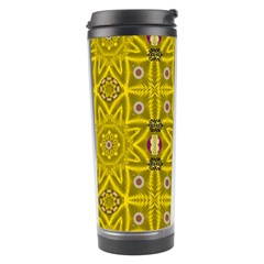 Stars And Flowers In The Forest Of Paradise Love Popart Travel Tumbler