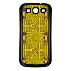 Stars And Flowers In The Forest Of Paradise Love Popart Samsung Galaxy S3 Back Case (black)
