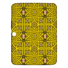 Stars And Flowers In The Forest Of Paradise Love Popart Samsung Galaxy Tab 3 (10.1 ) P5200 Hardshell Case