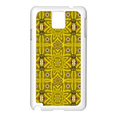 Stars And Flowers In The Forest Of Paradise Love Popart Samsung Galaxy Note 3 N9005 Case (White)