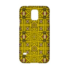 Stars And Flowers In The Forest Of Paradise Love Popart Samsung Galaxy S5 Hardshell Case